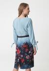 Niebieska Sukienka Delahey