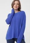 Niebieski Sweter Brunswick