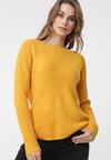 Żółty Sweter Brunswick