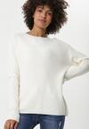 Biały Sweter Brunswick