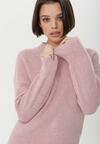 Różowy Sweter Dromana