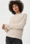 Beżowy Sweter Dromana