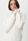 Biały Sweter Dromana