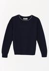 Granatowy Sweter Tallegalla