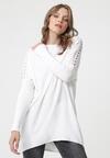 Biały Sweter Glenelg