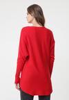 Czerwony Sweter Bowden