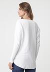Biały Sweter Bowden
