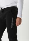 Czarne Spodnie Dresowe Rosewater