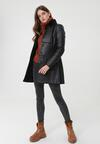 Czarny Płaszcz Chatswood