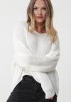 Biały Sweter Colyton