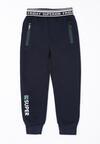 Granatowe Spodnie Byford
