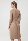 Beżowa Sukienka Winnellie