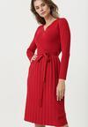 Czerwona Sukienka Winnellie