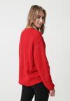 Czerwony Sweter Lilianne