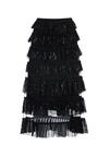 Czarna Spódnica Leschi