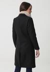 Czarny Płaszcz Seward
