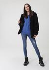 Niebieski Sweter Marin