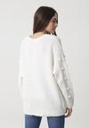 Biały Sweter Burlingame