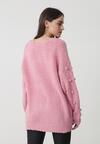 Różowy Sweter Burlingame