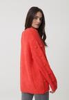 Czerwony Sweter Burlingame