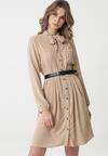 Beżowa Sukienka Tuscumbia