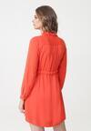 Pomarańczowa Sukienka Prichard