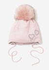 Różowa Czapka Pebble