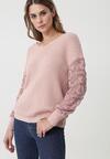 Różowy Sweter Summer Memory