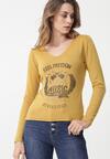 Żółty Sweter Bungala