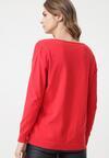 Czerwony Sweter Crystal Brook