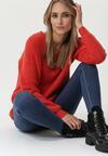 Czerwony Sweter Arkansas Post