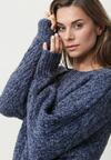Ciemnoniebieski Sweter Finniss