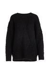 Ciemnobrązowy Sweter Finniss