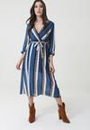 Niebieska Sukienka Marcus