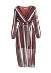 Bordowa Sukienka Marcus