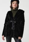 Czarny Płaszcz Janessa