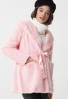 Różowy Płaszcz Janessa