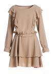 Beżowa Sukienka Liard
