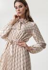 Kremowa Sukienka Caswell