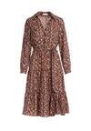 Brązowa Sukienka Corrib