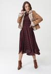 Bordowa Sukienka Adlington