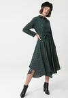 Ciemnozielona Sukienka Adlington