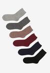 6-pack Mix kolorów Skarpety Zundo