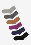 6-pack Mix kolorów Skarpety Newhatlight