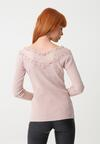 Różowy Sweter Melshire