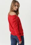 Czerwony Sweter Webster