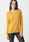 Żółty Sweter Arriello