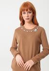 Brązowy Sweter Arriello