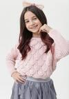 Różowy Sweter Quodubair