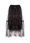 Czarna Spódnica Tempbam